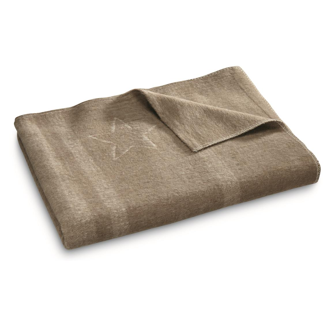 Military Style Italian Officer's Blanket
