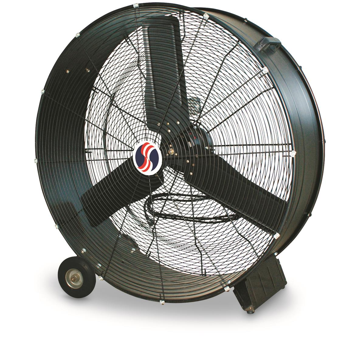 "Q Standard 30"" Direct Drive Drum Fan"
