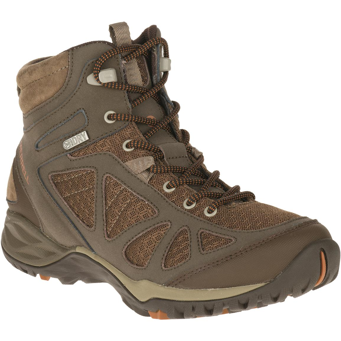 Merrell Women's Siren Sport Q2 Waterproof Hiking Shoes, Slate Black