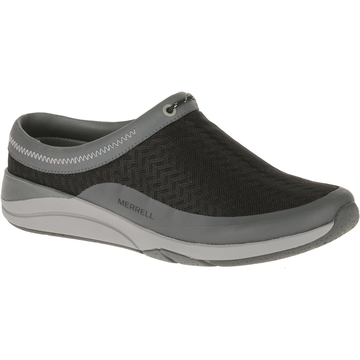 Merrell Applaud Women's Mesh Slide Shoes, Black