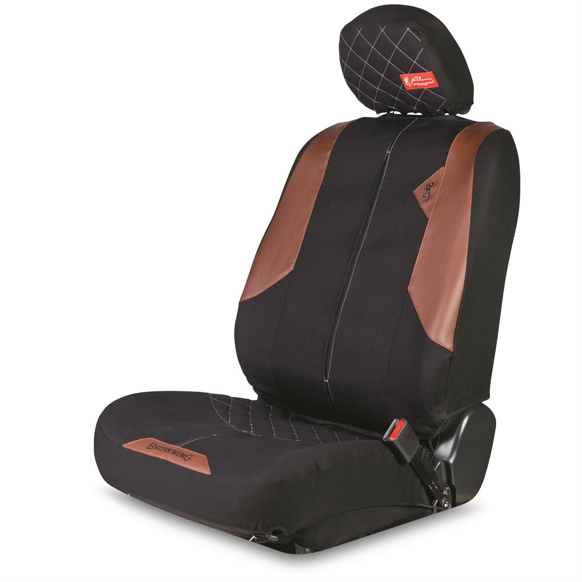 Browning Heritage Seat Cover, Black