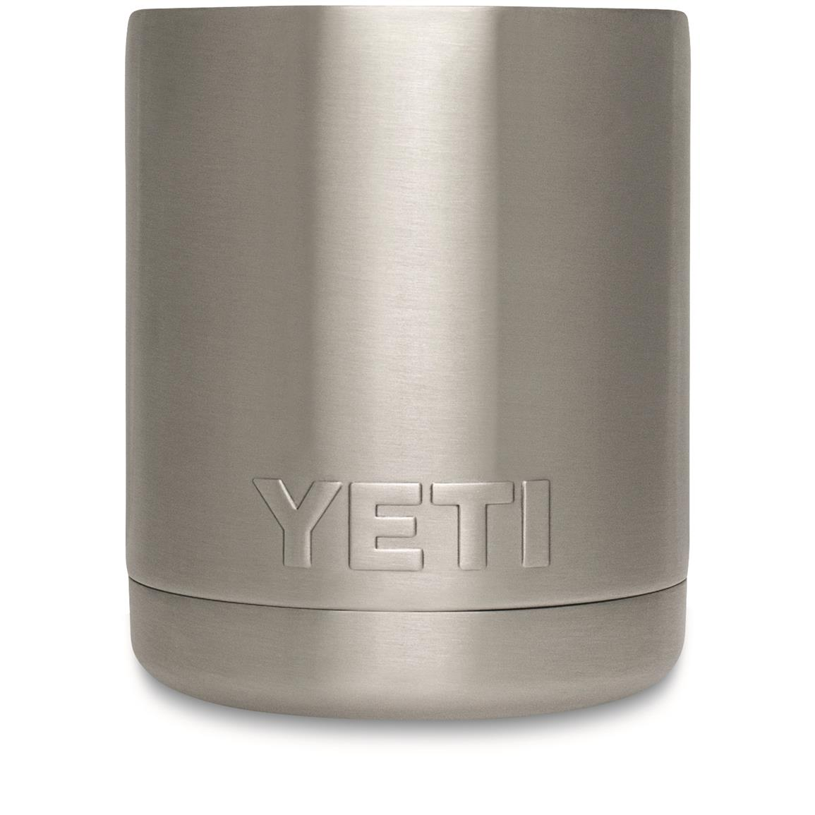 YETI Rambler Stainless Steel Tumble, 10 oz. Lowball