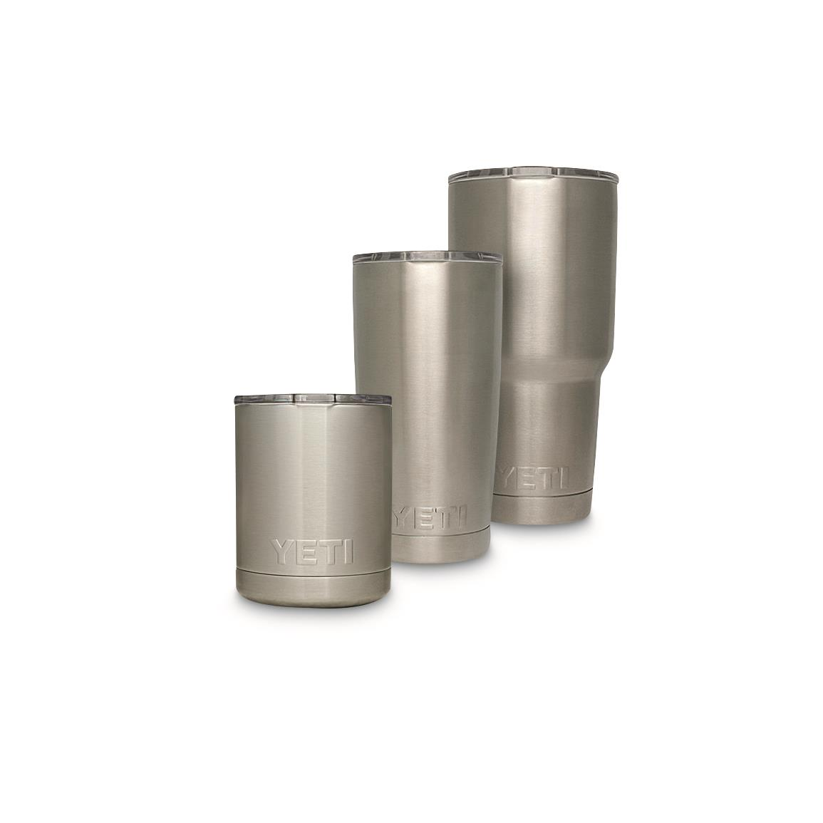 YETI Rambler Stainless Steel Tumblers Collection Lineup