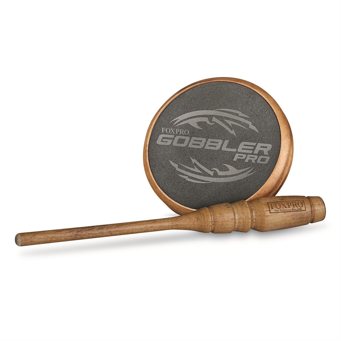 FOXPRO Gobbler Pro Turkey Pot Call, Slate
