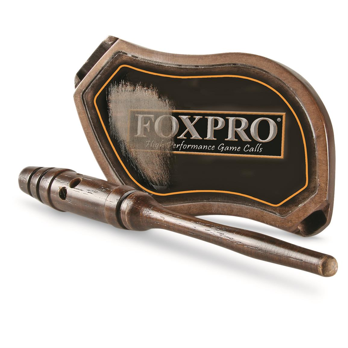 FOXPRO Crooked Spur Glass Turkey Pot Call