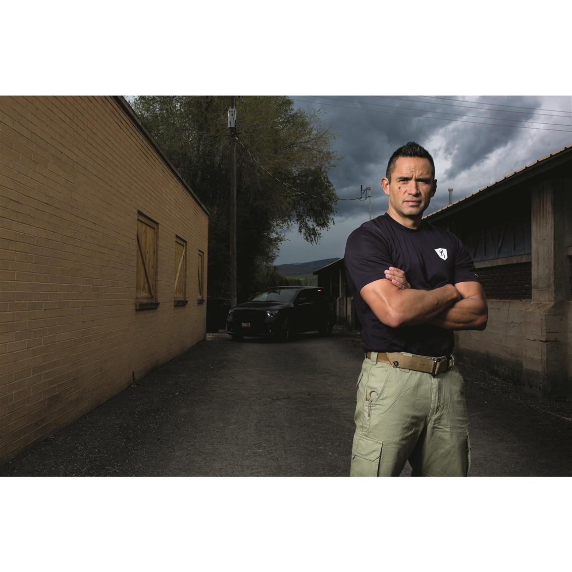 Jared Wihongi, edged weapon expert and Browning pro-staff member