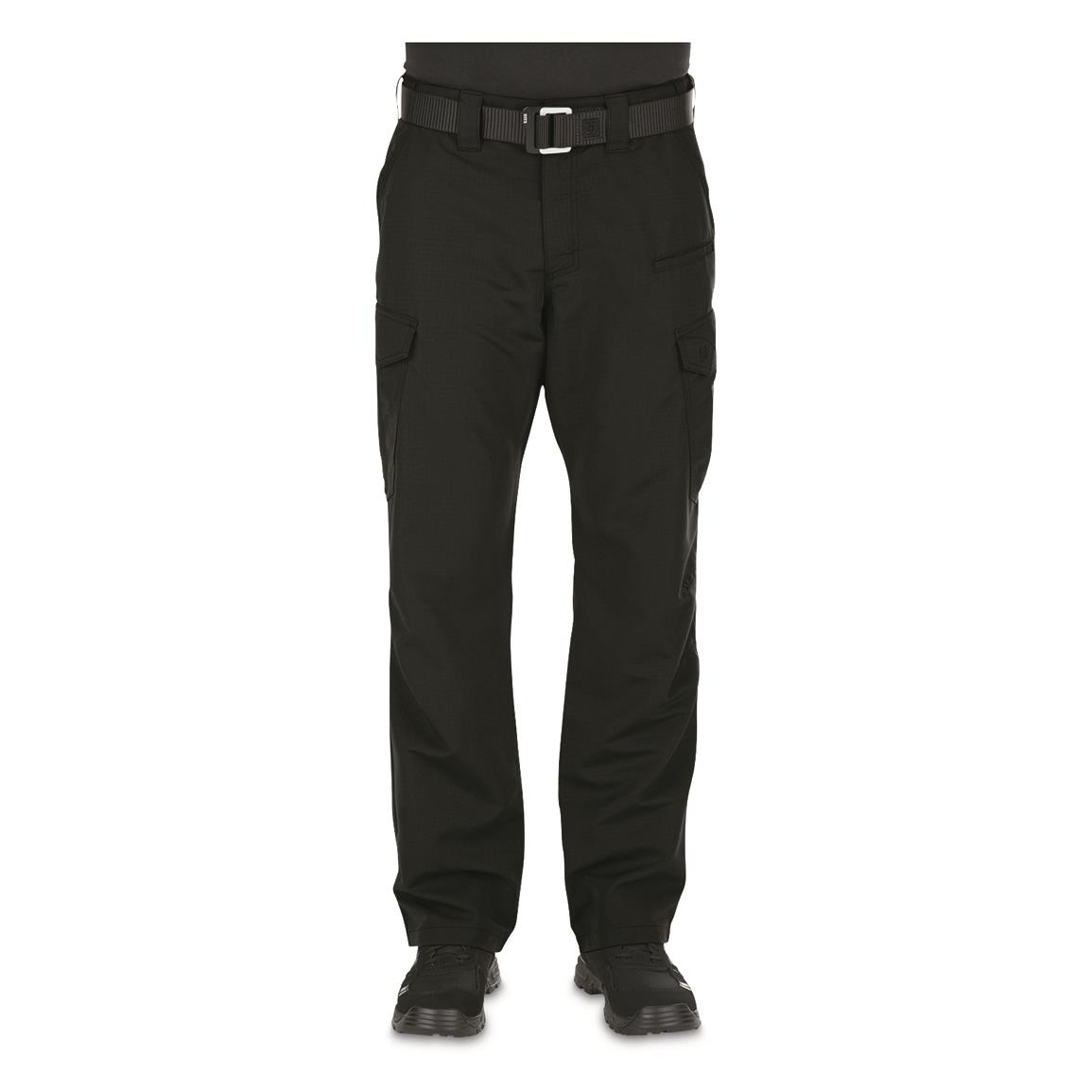 5.11 Tactical Fast-Tac Men's Cargo Pants, Black