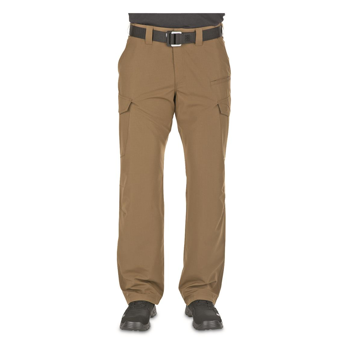 5.11 Tactical Fast-Tac Men's Cargo Pants, Khaki