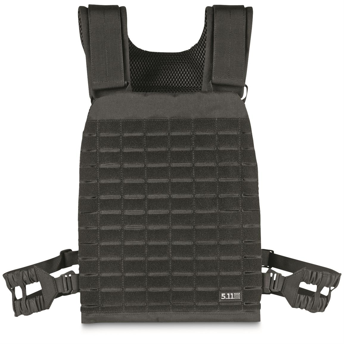 5.11 Tactical Taclite Plate Carrier, Black
