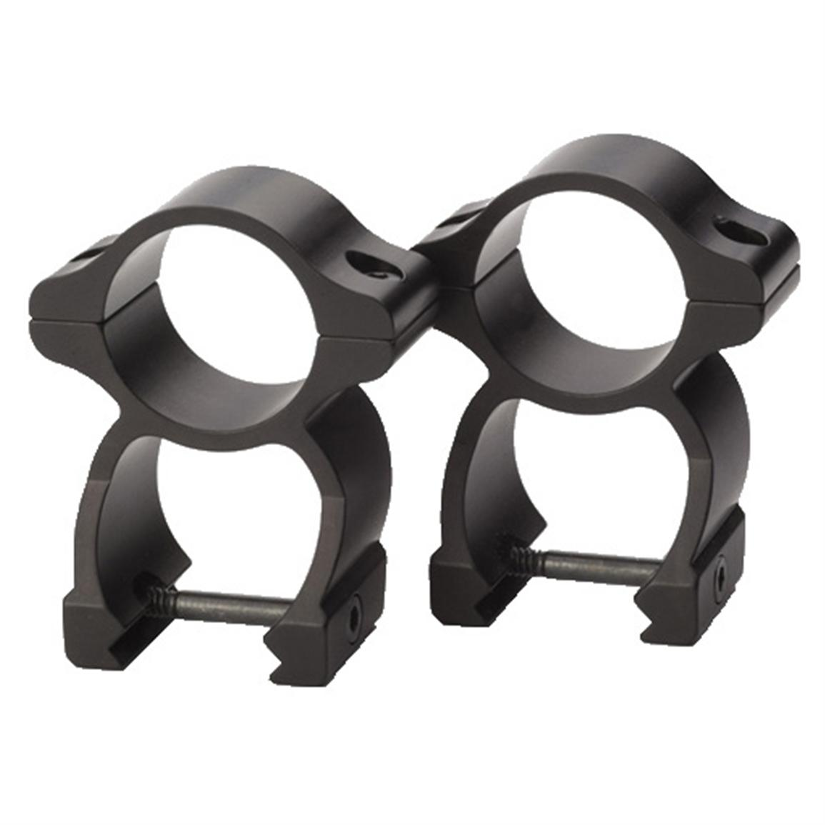 Traditions® Detachable See-Thru Scope Rings, Blued