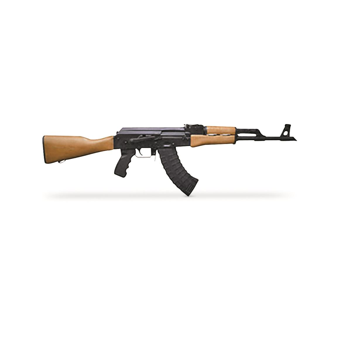 "Century Arms RAS-47 AK, Semi-Automatic, 7.62x39mm, 16.5"" Barrel, 30+1 Rounds"
