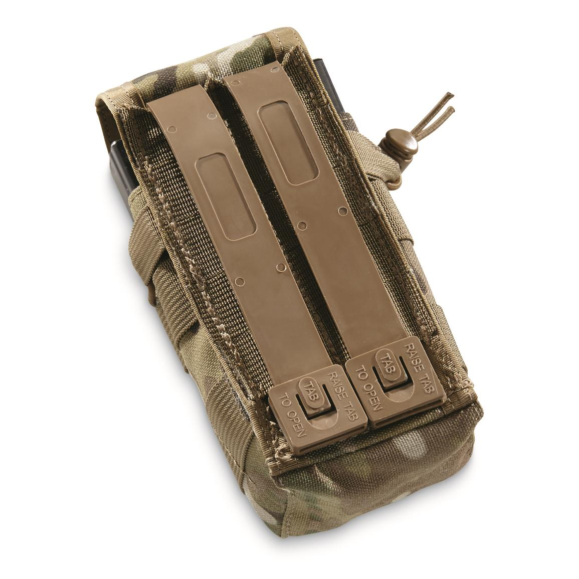 MOLLE system on back for easy attachment to other packs