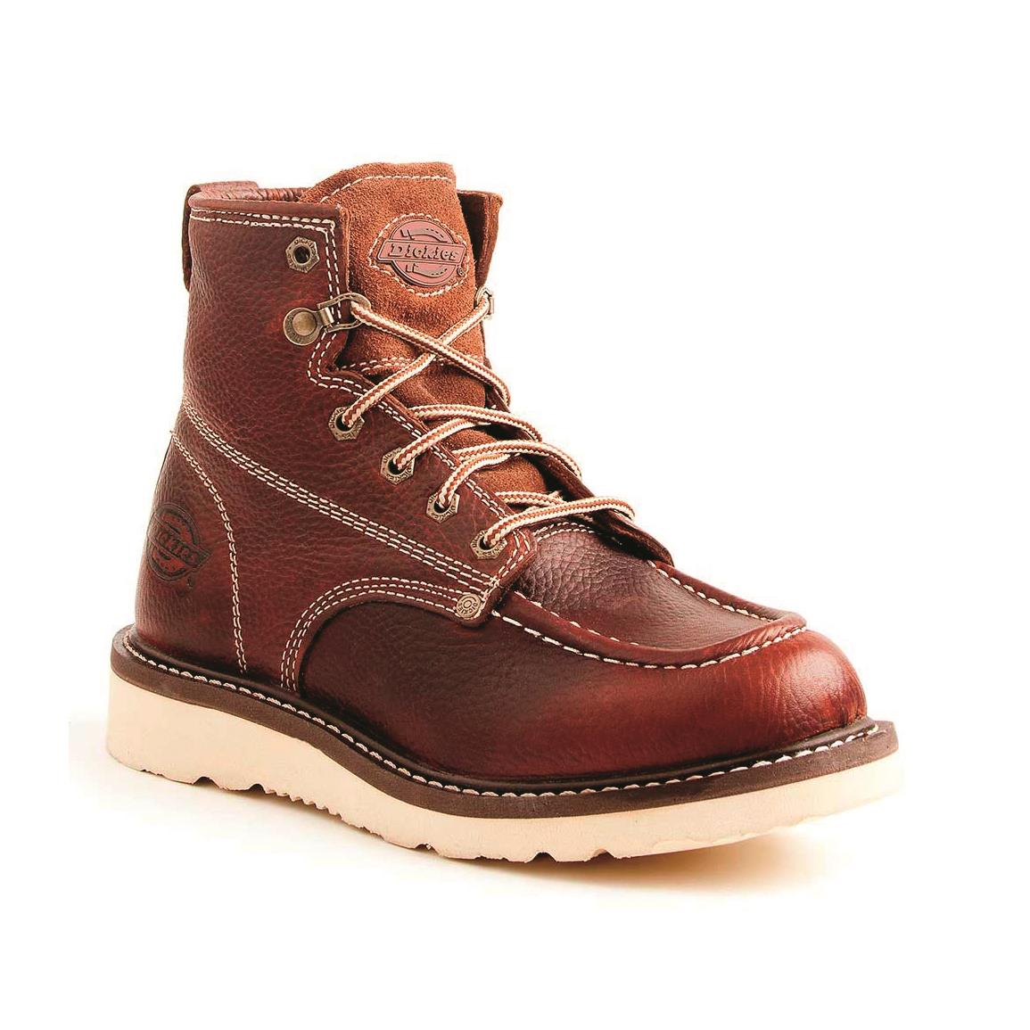 Dickies Men's Trader Work Boots, Red Oak