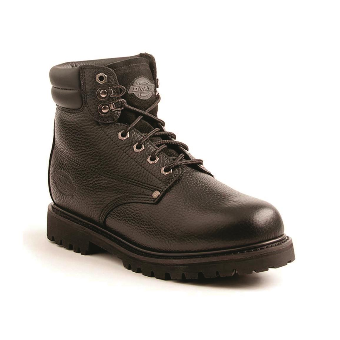 Dickies Men's Raider Steel Toe Work Boots, Black