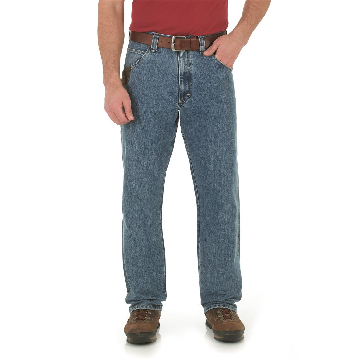 Wrangler RIGGS Workwear Men's Cool Vantage Carpenter Jeans, Light Stone
