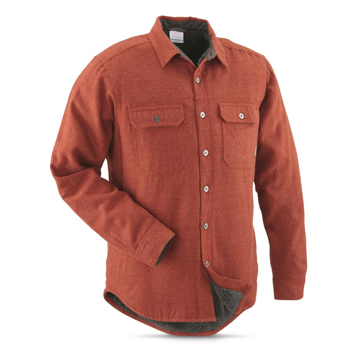 Columbia Men's Windward III Overshirt, Rusty