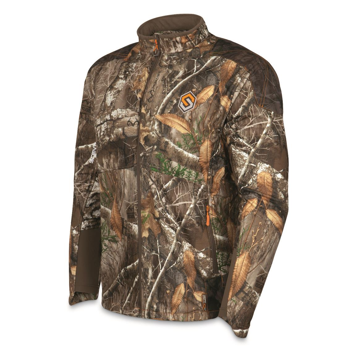 ScentLok Men's Full Season TAKTIX Hunting Jacket, Realtree EDGE™