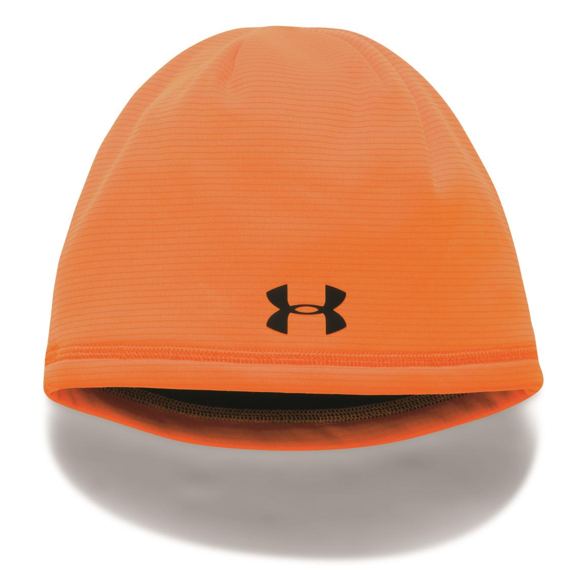 Under Armour Youth Scent Control Storm Fleece Beanie, Blaze Orange/Cannon