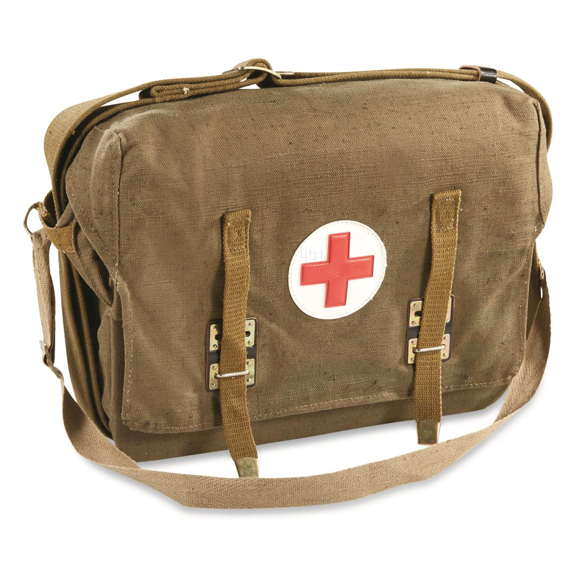 Russian Military Surplus Medical Shoulder Bag, Used