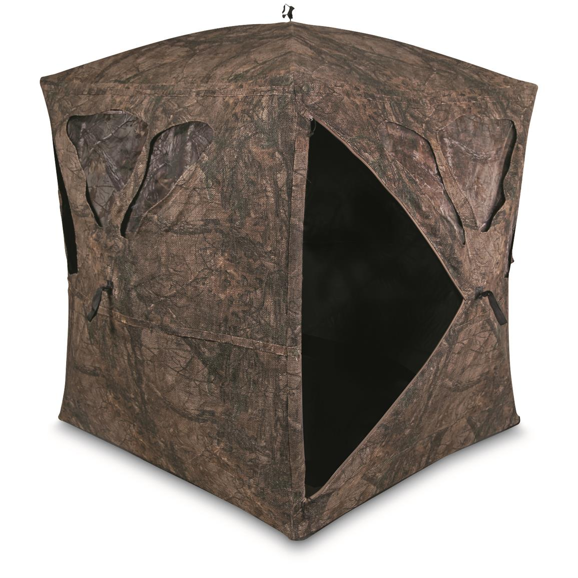 Dual-layer fabric shell with natural fiber exterior eliminates glare and sheen