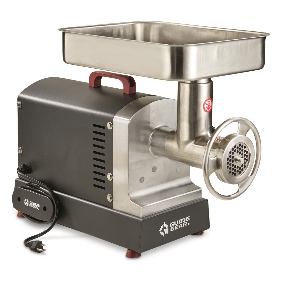 Guide Gear #22 Electric Commercial Grade Meat Grinder, 1 hp