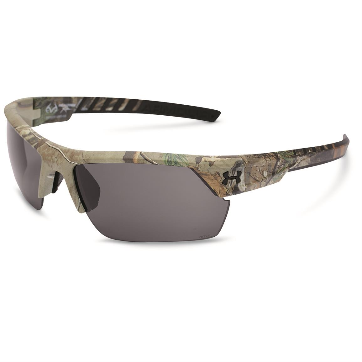 Under Armour Men's Igniter 2.0 Satin Realtree Sunglasses, Realtree Gray