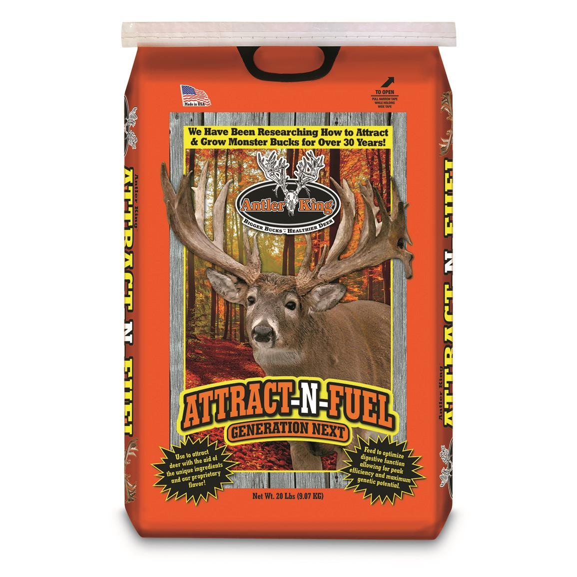 Antler King Attract-N-Fuel, 20-lb. Bag