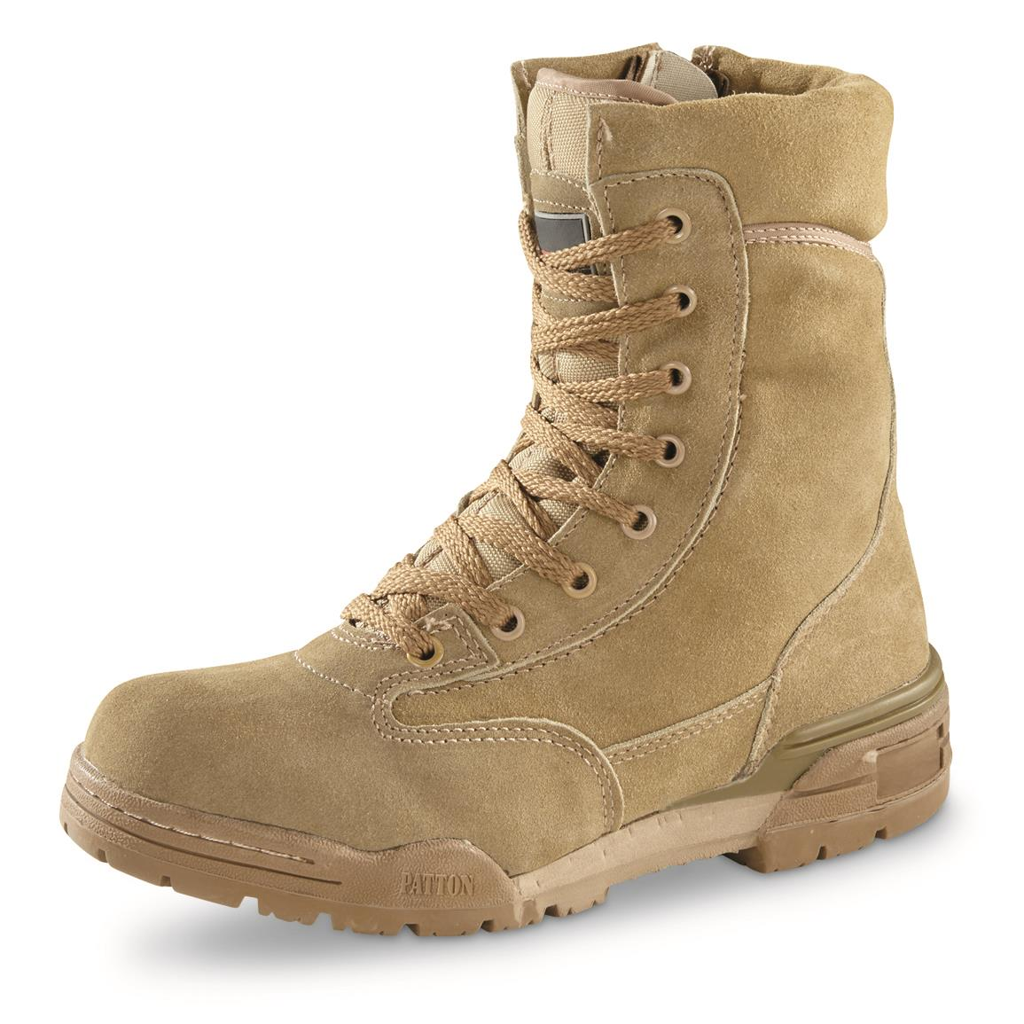 e9539ef8699 Italian Military Surplus Waterproof Suede Combat Boots, New - 700163 ...