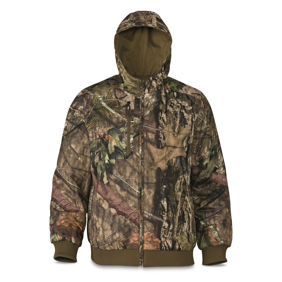Browning Men's Hell's Canyon Contact Reversible Jacket, Mossy Oak Country