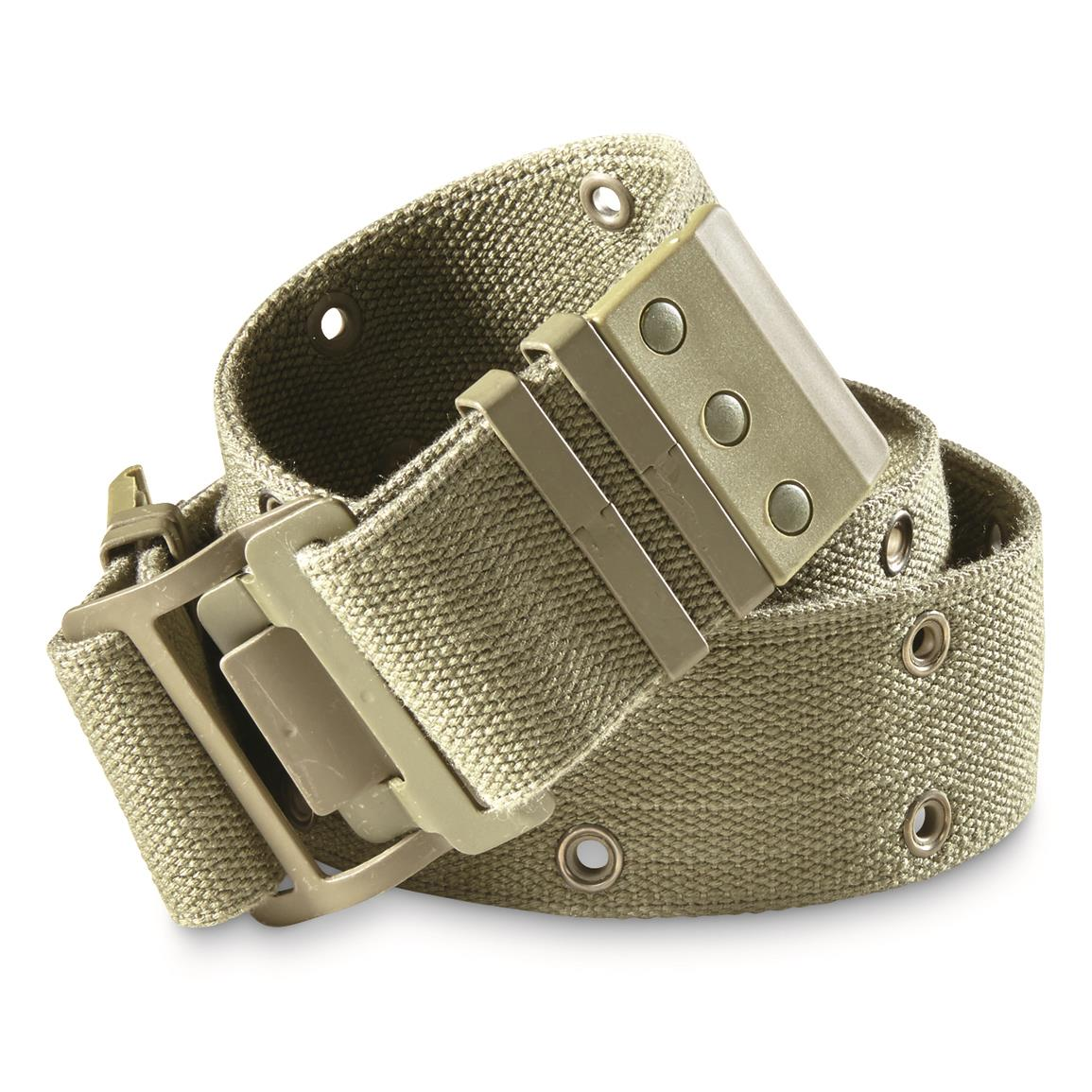French Military Surplus FAMAS Pistol Belts, 2 Pack, New