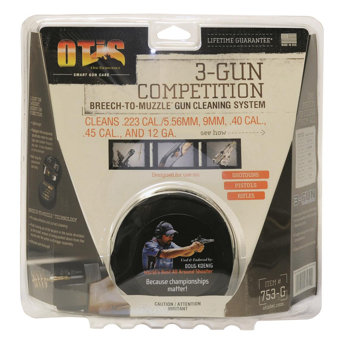 3-Gun Competition Cleaning System