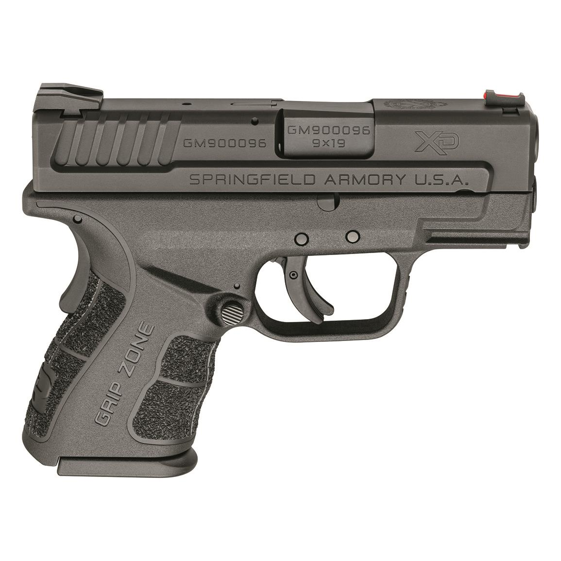 "Springfield XD Mod.2 Subcompact, Semi-Automatic, 9mm, 3"" Barrel, 16+1/13+1 Rounds"