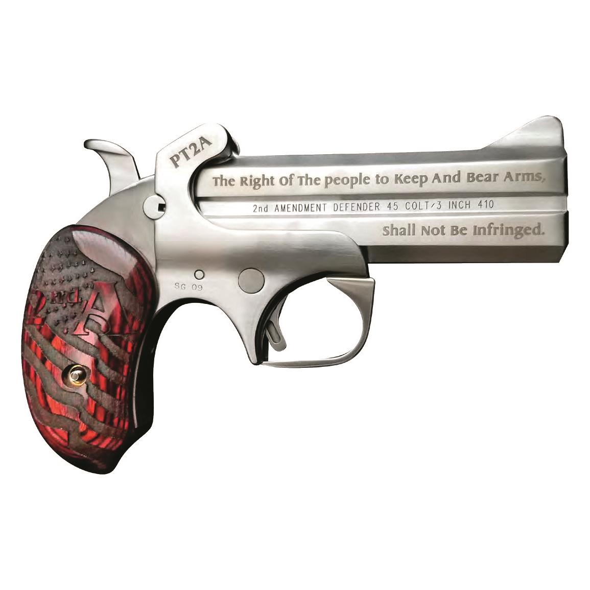"Bond Arms ""Protect the 2nd Amendment"", Over/Under, .357 Magnum, 4.25"" Barrels, 2 Rounds"