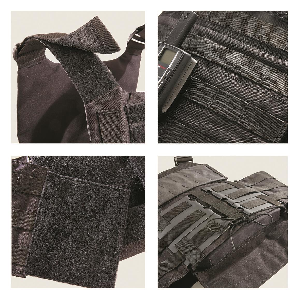 For a snug, custom fit, Armor Express equipped the Hard Bal with their Dynamic Cumberbund System.