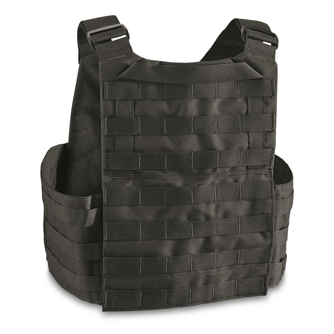 "Rear pocket for 10"" x12.5"" ballistic plate"