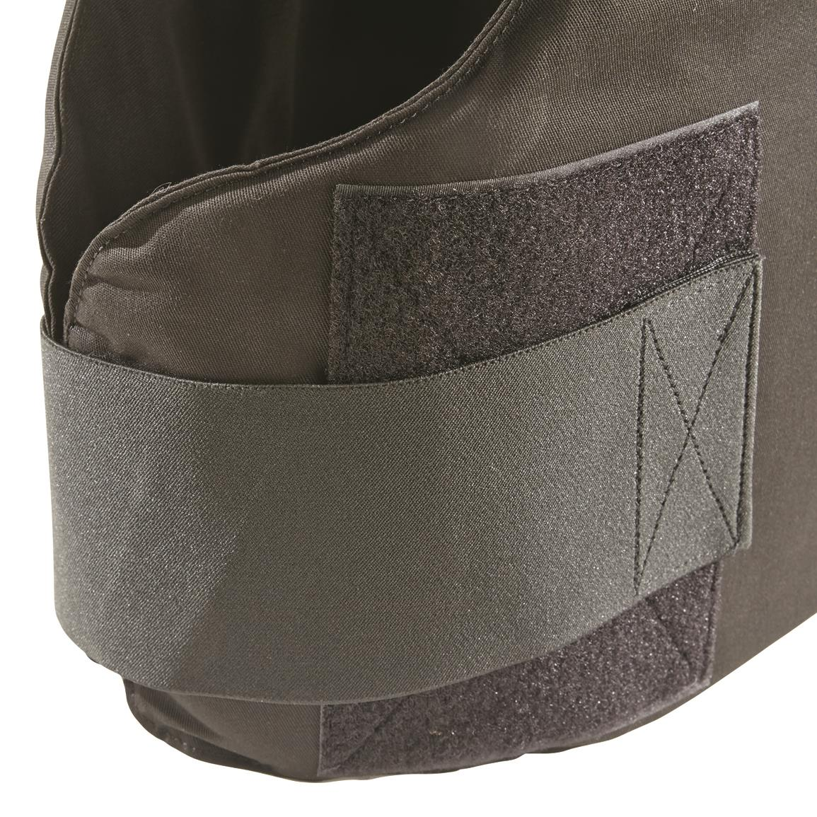 Full-coverage integrated Kevlar soft armor on front, back and sides