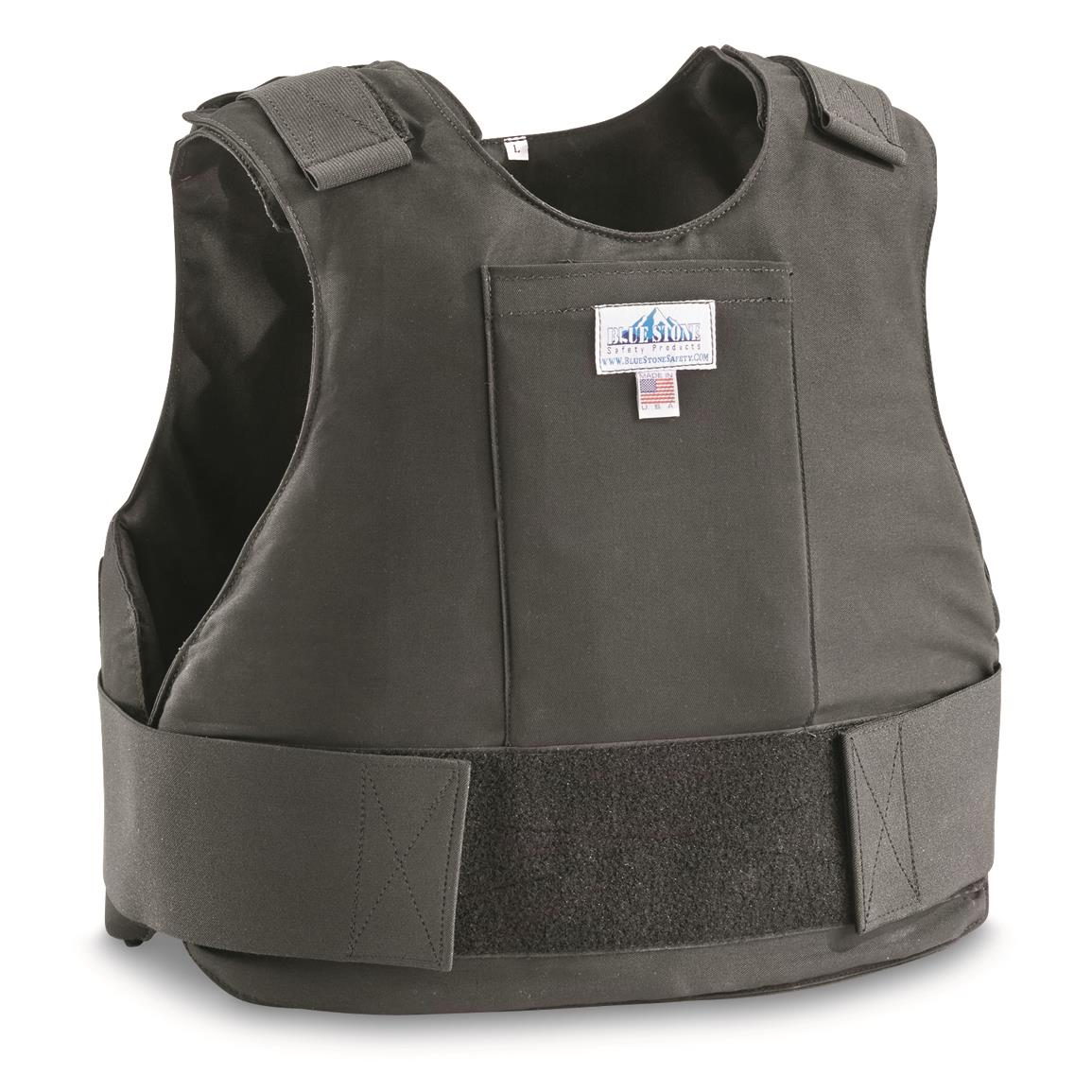 Blue Stone Level 3A Professional Full-Wrap Bullet Protection Vest