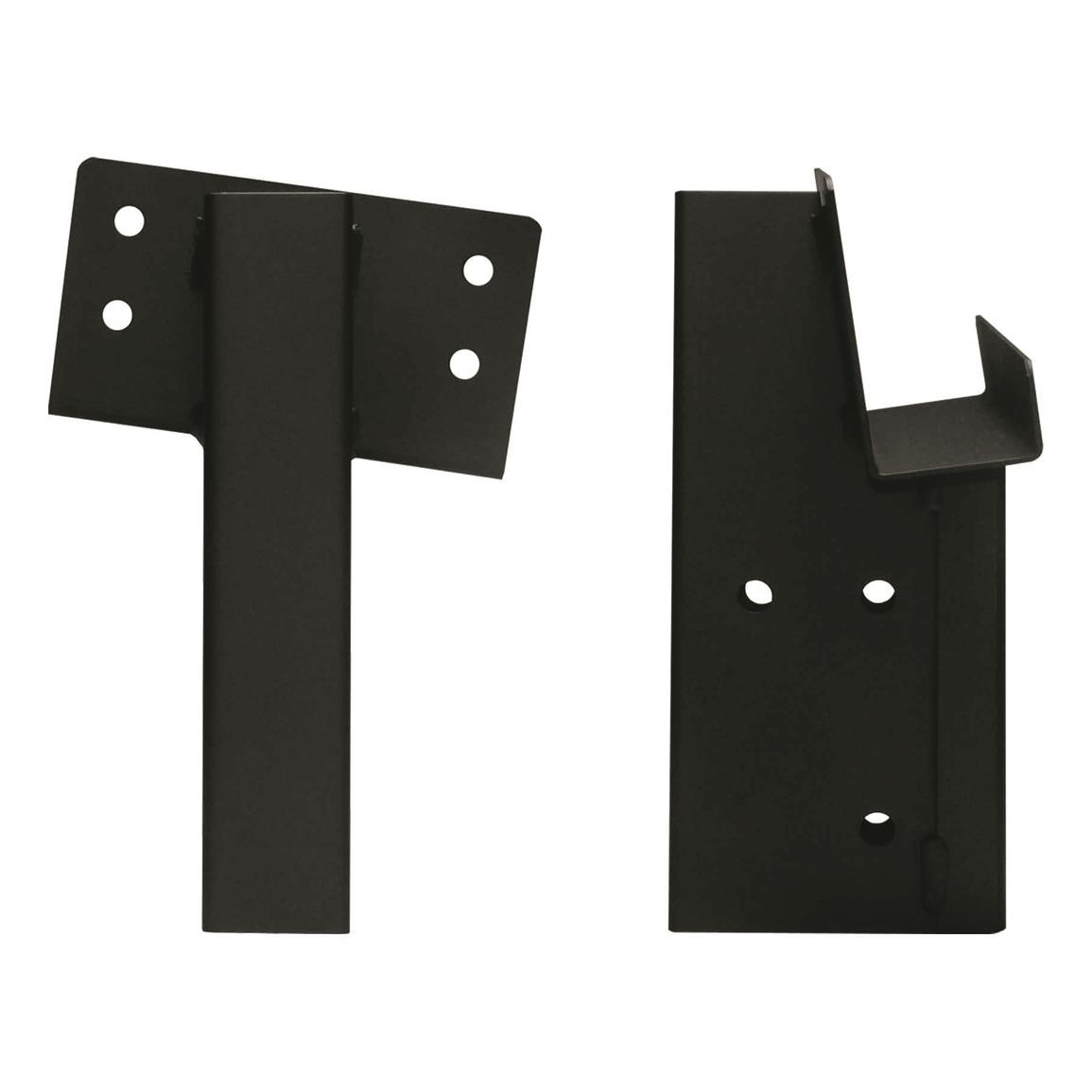Compound 2x4 Angle Elevator Brackets, 4 Pack