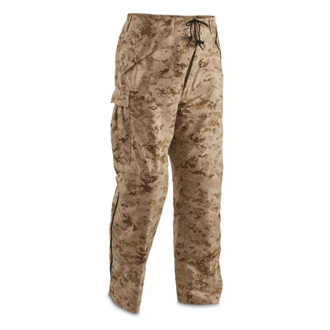 U.S. Military Desert Digital GORE-TEX Pants, New, Digital Desert