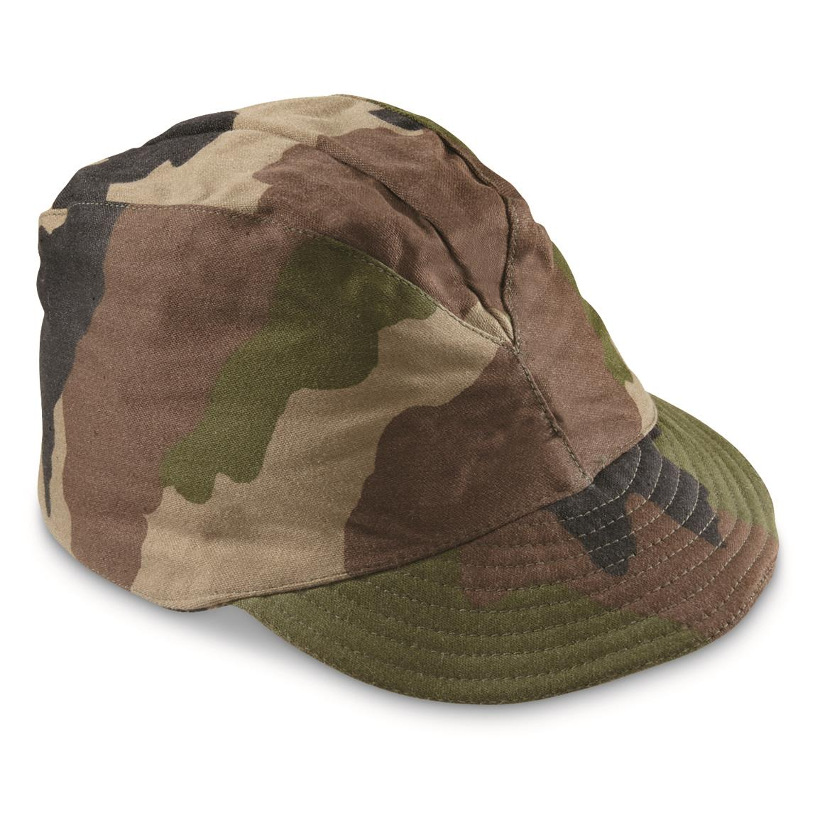 French Military Surplus F1 Field Caps, 3 pack, New