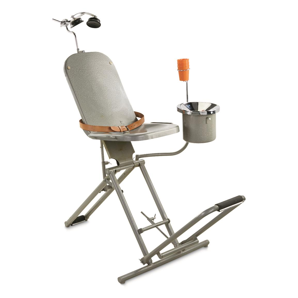 Czech Military Surplus Dental Chair, Used
