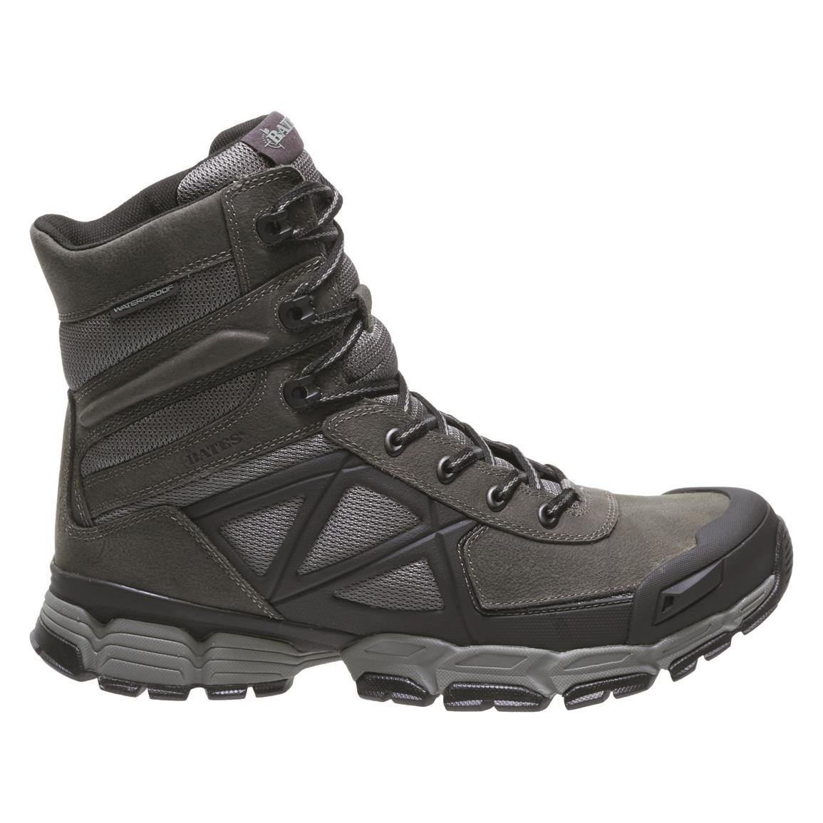 Bates Men's Velocitor FX Waterproof Hiking Boots, Dark Cloud