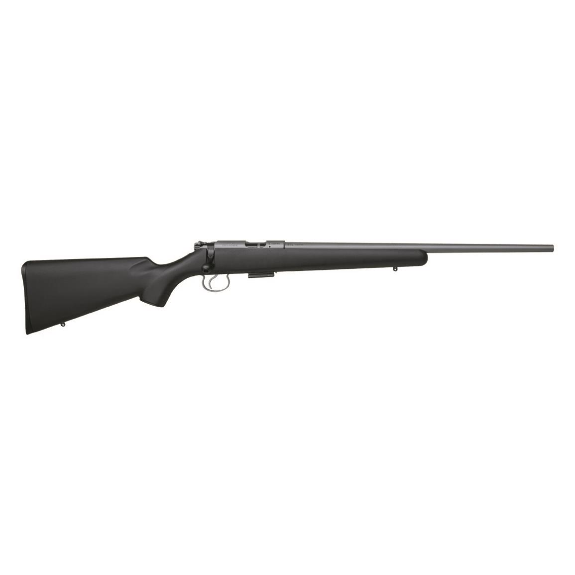 "CZ-USA 455 American, Bolt Action, .22LR, Rimfire, 20.5"" Stainless Barrel, Synthetic Stock,5+1 Rounds"