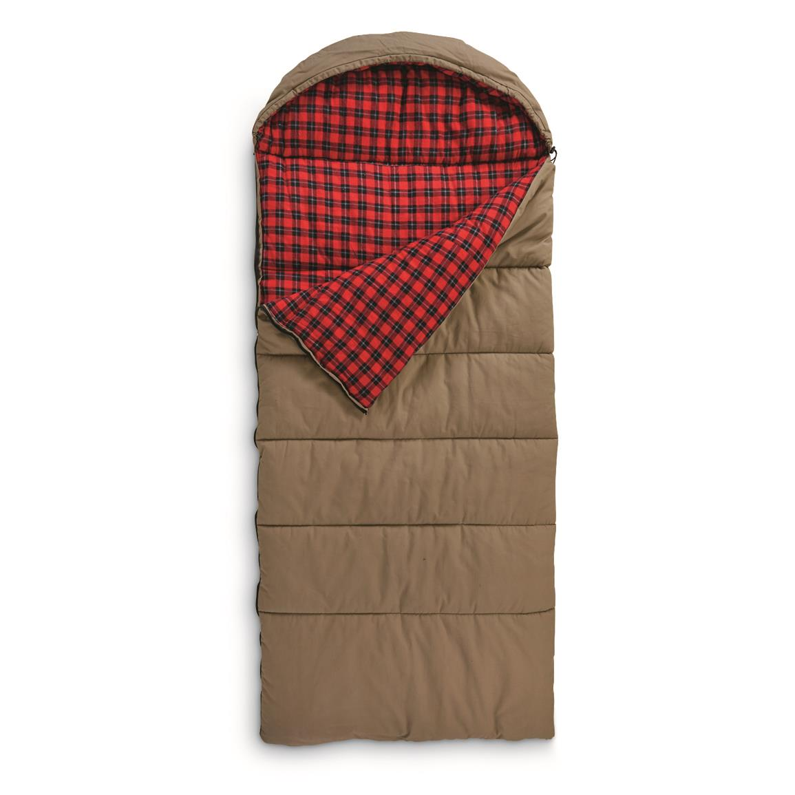 Guide Gear Canvas Hunter Sleeping Bag, 0°F