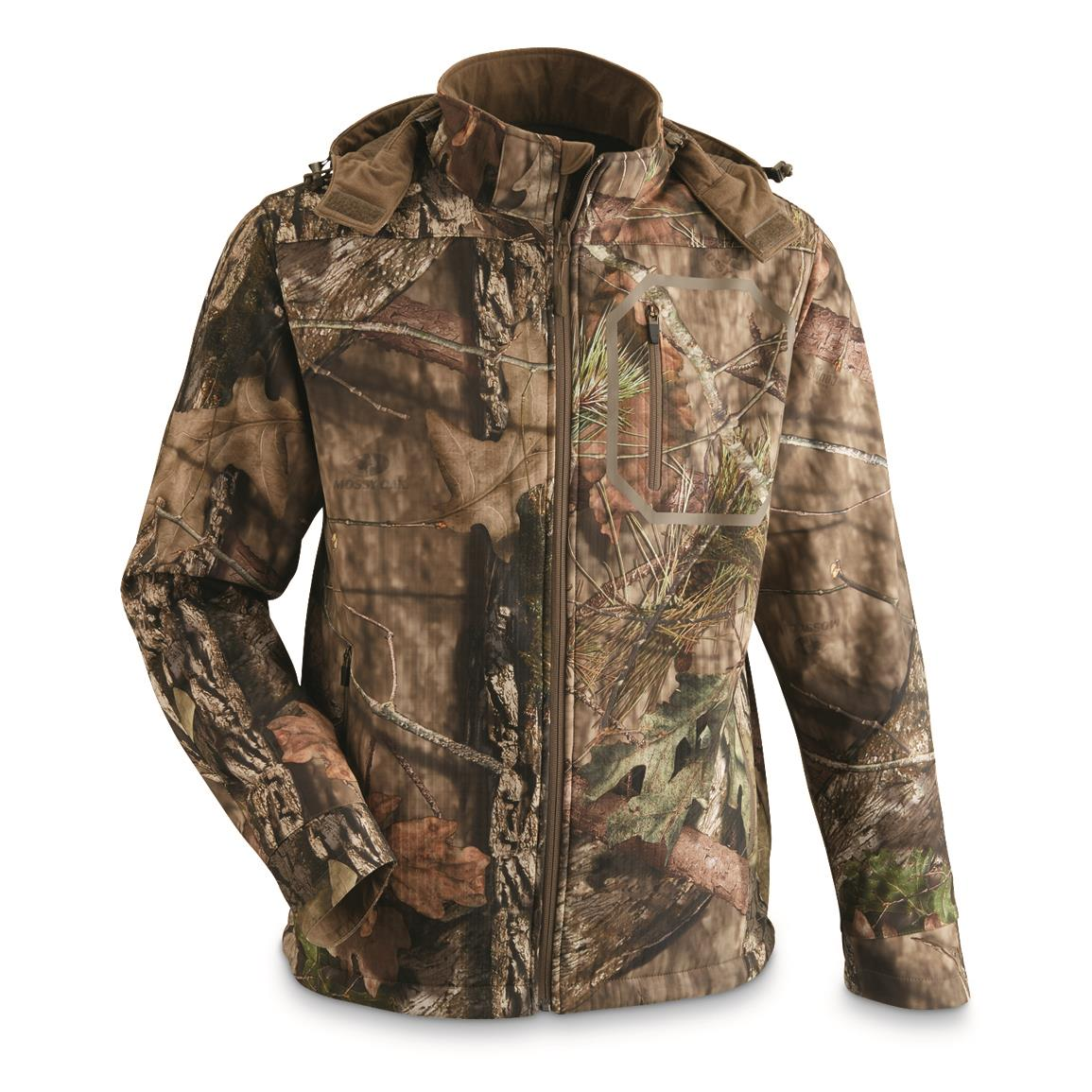 Guide Gear® Men's Softshell Hunting Jacket, Mossy Oak Break-Up® COUNTRY™