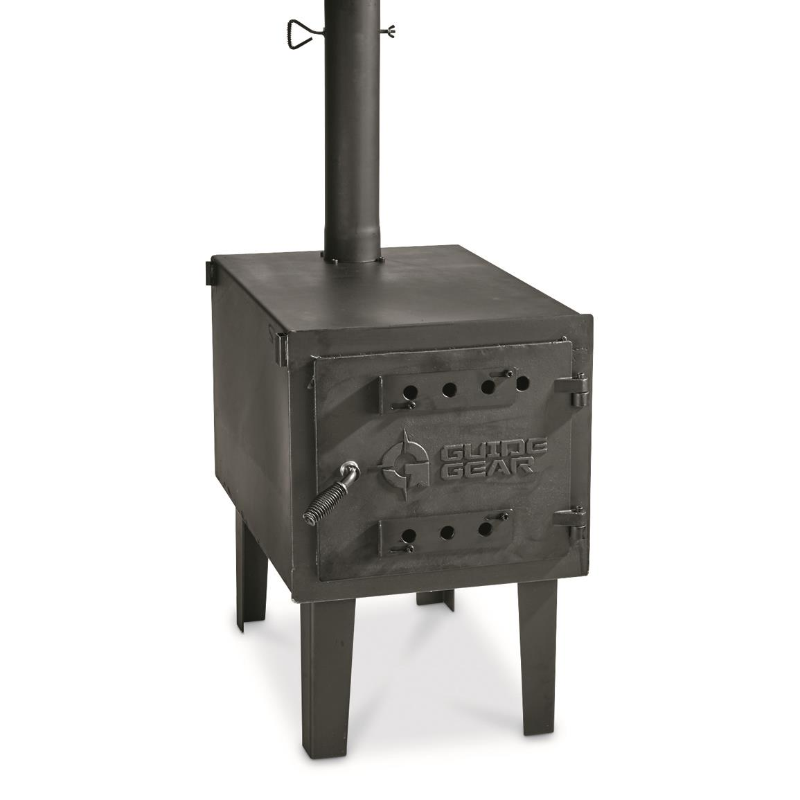 "Larger 24""l. x 17""w. x 15""h. firebox that produces an even greater heat output"