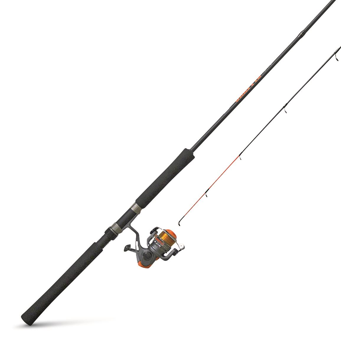 Zebco Crappie Fighter  Spinning Rod and Reel Combo