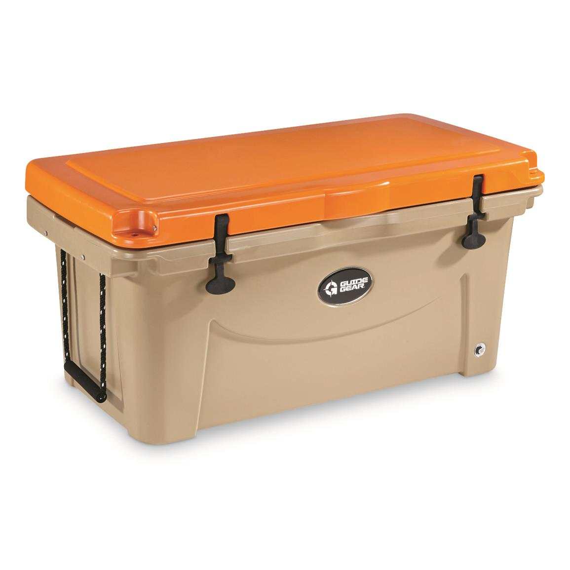 Guide Gear 90 Quart Cooler, Orange/Tan