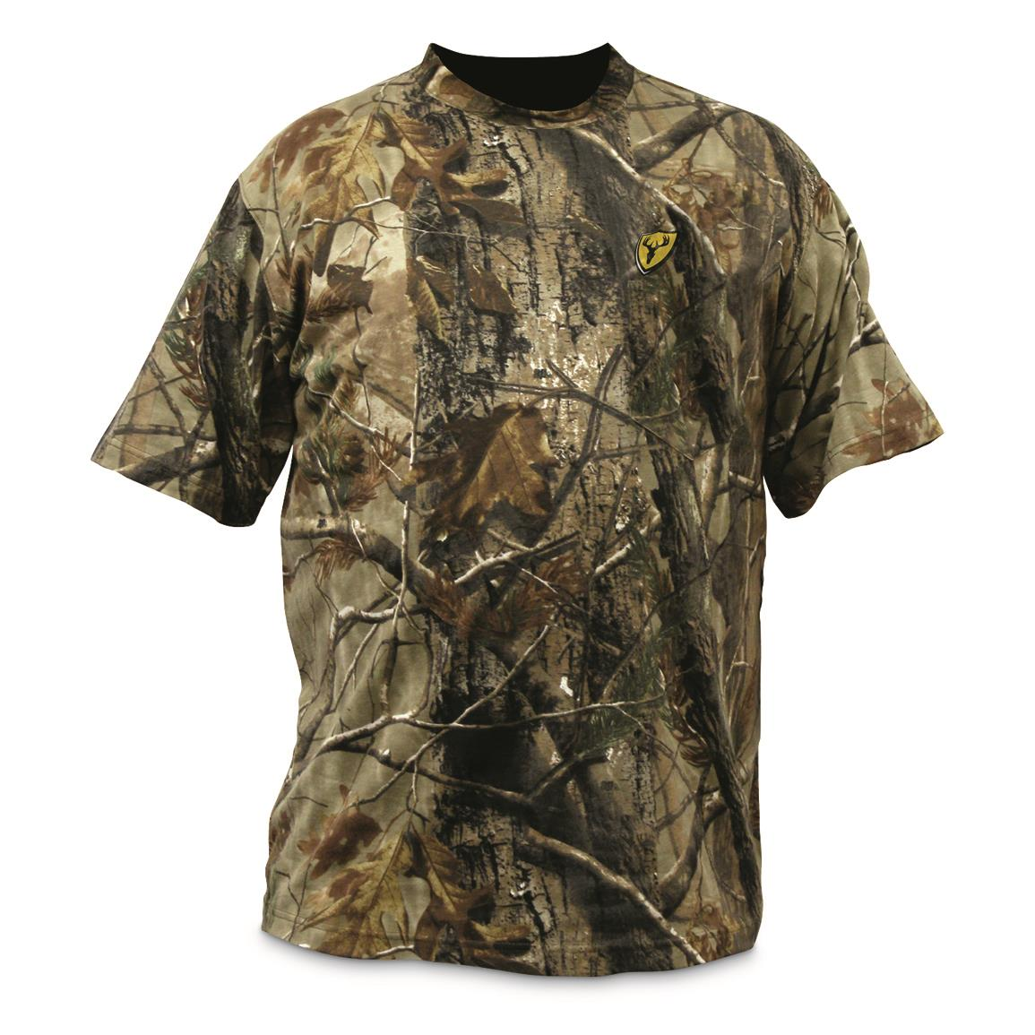Scentblocker Men's Short-Sleeve T-Shirt, Realtree Edge, Realtree EDGE™