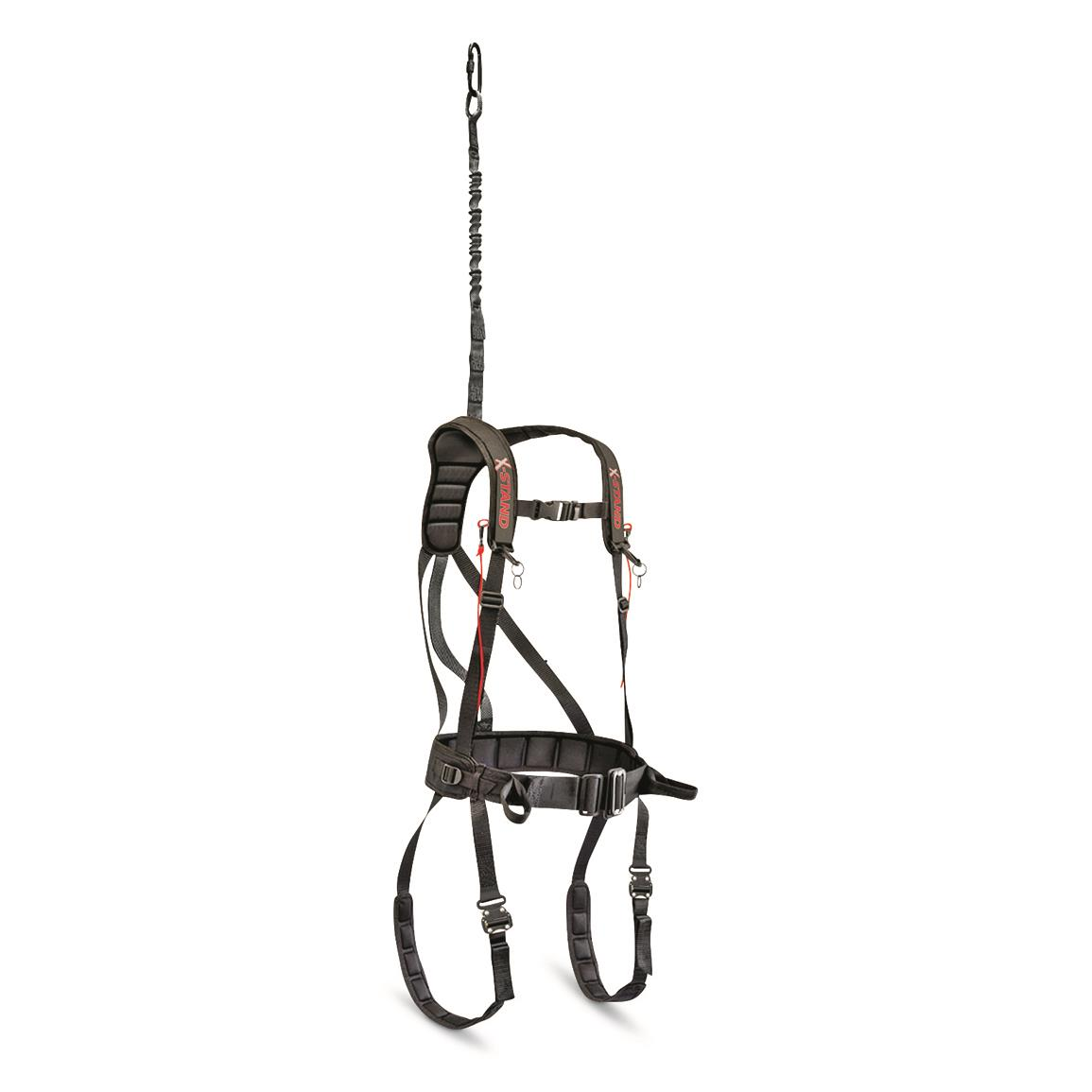 x-stand x-factor tree stand safety harness